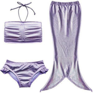 Other - Kids Girls 3Pcs,Mermaid Tail, Swim wear, kids swim